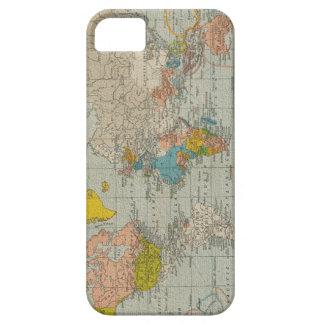 ヴィンテージの世界地図1910年 iPhone SE/5/5s ケース