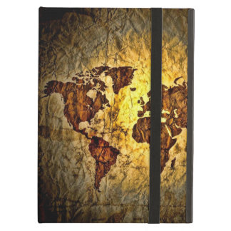 ヴィンテージの世界地図 iPad AIRケース