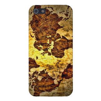 ヴィンテージの世界地図 iPhone 5 COVER