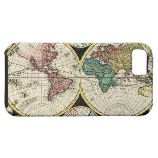 ヴィンテージの世界地図- ZazzleのiPhone 5の場合 iPhone SE/5/5s ケース