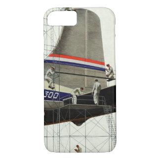 ヴィンテージの交通機関、飛行機のための維持 iPhone 8/7ケース