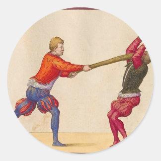 ヴィンテージの人の戦い ラウンドシール