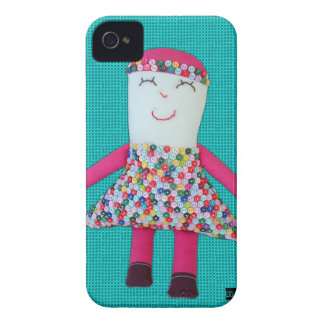 ヴィンテージの人形のジャスミンのiPhone 4の穹窖の箱 Case-Mate iPhone 4 ケース