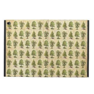 ヴィンテージの休日の木パターン POWIS iPad AIR 2 ケース