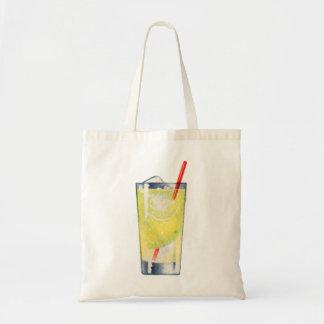 ヴィンテージの低俗なカクテルのジンのRickeyの酒宴 トートバッグ