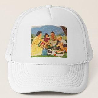 ヴィンテージの低俗なピクニック五十年代家族のピクニック キャップ