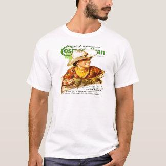ヴィンテージの全世界的な雑誌カバー(女性のカーボーイ) Tシャツ