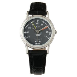 ヴィンテージの円形のアナログの自動回転速度計 腕時計