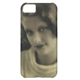 ヴィンテージの写真の魅力の女の子 iPhone5Cケース