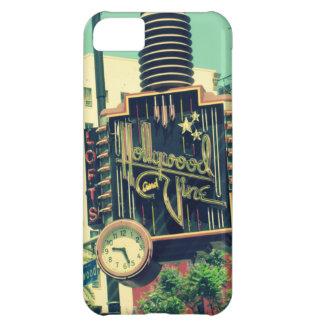 ヴィンテージの写真ハリウッド及びつる植物、ロサンゼルス iPhone5Cケース