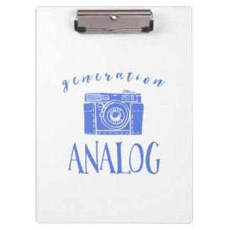 ヴィンテージの写真撮影のおもしろいな世代別アナログ クリップボード