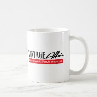 ヴィンテージの出来事(左利きの) コーヒーマグカップ