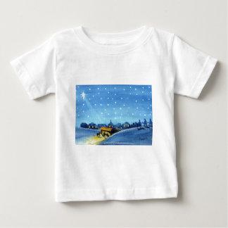 ヴィンテージの出生の芸術 ベビーTシャツ