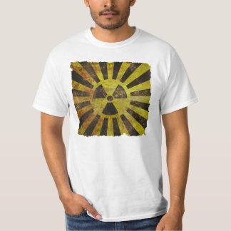 ヴィンテージの動揺してな放射性Tシャツ Tシャツ