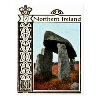 ヴィンテージの北アイルランドの郵便はがき ポストカード