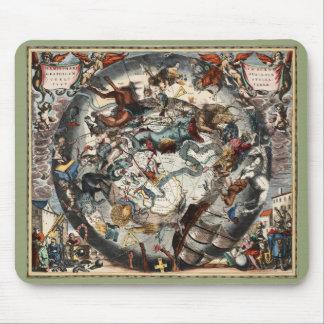 ヴィンテージの南半球の星座 マウスパッド