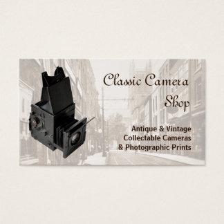 ヴィンテージの単レンズの反射カメラ 名刺