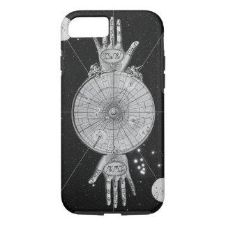 ヴィンテージの占星術の形而上学的なイメージ iPhone 8/7ケース