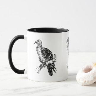 ヴィンテージの古いbuzzardのコーヒー・マグ マグカップ