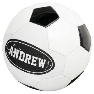 ヴィンテージの名前をカスタムするを用いる名前入りなサッカーボール サッカーボール
