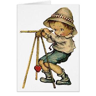 ヴィンテージの土地の検査官-本当愛 カード