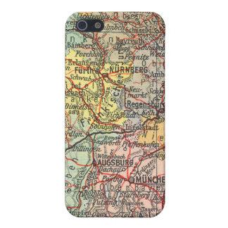 ヴィンテージの地図のiPhone 4のSpeckの場合 iPhone 5 カバー