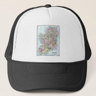 ヴィンテージの地図-アイルランド キャップ