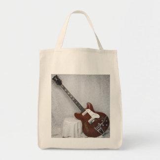 ヴィンテージの声によってすごいオオヤマネコのギターのバッグ トートバッグ