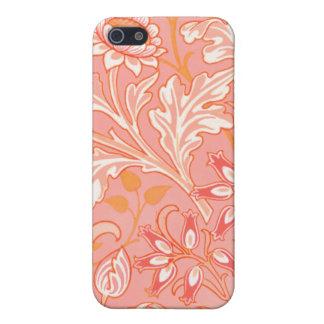 ヴィンテージの夏の花 iPhone SE/5/5sケース