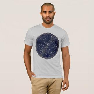 ヴィンテージの天の地図の天文学のプリントの宇宙の宇宙 Tシャツ