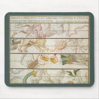 ヴィンテージの天の地図、ジョンの販売人による天文学 マウスパッド