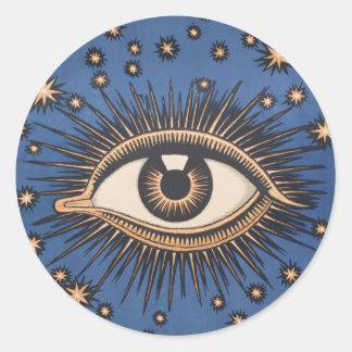 ヴィンテージの天の目は月を主演します ラウンドシール