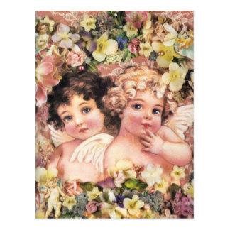 ヴィンテージの天使 ポストカード