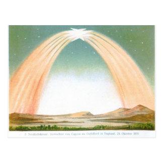 ヴィンテージの天文地図および星座 ポストカード