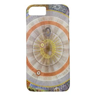 ヴィンテージの天文学の天のCopernican Planisphere iPhone 8/7ケース