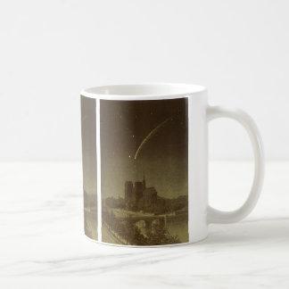 ヴィンテージの天文学、パリ1858年上のDonatiの彗星 コーヒーマグカップ