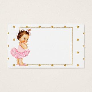 ヴィンテージの女の赤ちゃんのプリンセスの名刺 名刺