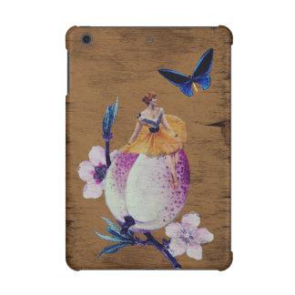 ヴィンテージの女性の花木質 iPad MINI RETINAケース