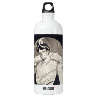 ヴィンテージの女性コルセット広告 ウォーターボトル