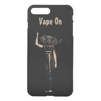 ヴィンテージの女性象Vape iPhone 7 Plusケース