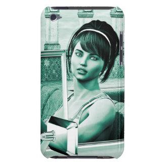 ヴィンテージの女性 Case-Mate iPod TOUCH ケース