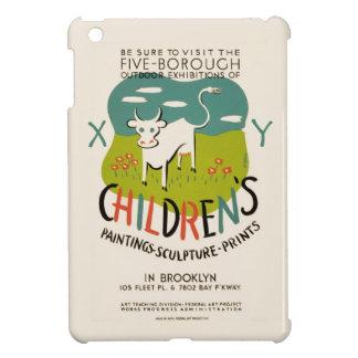 ヴィンテージの子供の芸術のカスタムのケース iPad MINIケース