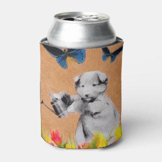 ヴィンテージの子犬によっては蝶グランジなIIが開花します 缶クーラー
