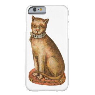 ヴィンテージの子猫猫 BARELY THERE iPhone 6 ケース