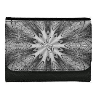 ヴィンテージの孔雀の羽の万華鏡のように千変万化するパターンのデザインの財布