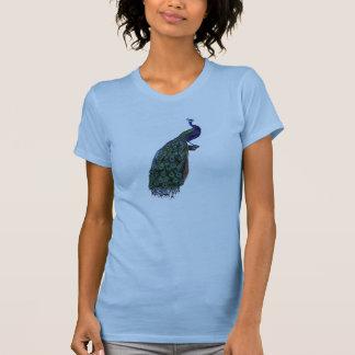ヴィンテージの孔雀 Tシャツ
