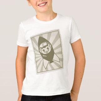 ヴィンテージの宇宙のハムスターのスタンプのTシャツ Tシャツ