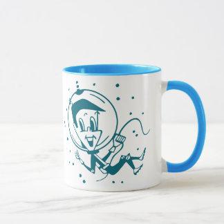 ヴィンテージの宇宙の子供のマグ マグカップ