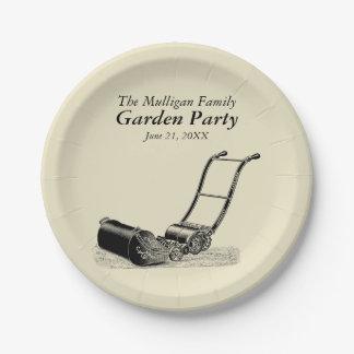 ヴィンテージの家族会の園遊会の紙皿 紙皿 小