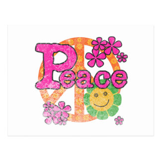 ヴィンテージの平和 ポストカード